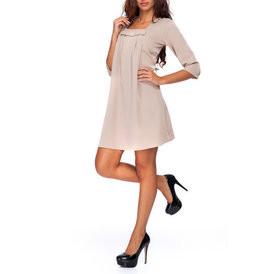 Suknele su kaspineliu smelio spalvos