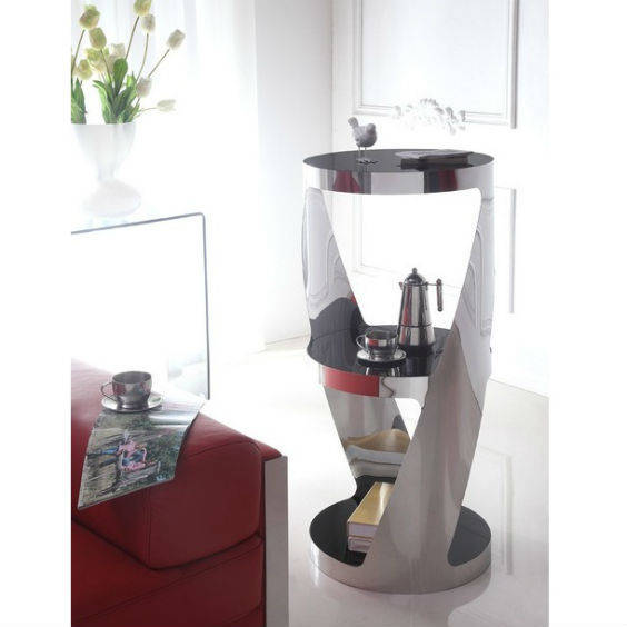 Stiklinis kavos staliukas orion