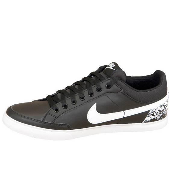 Nike capri iii low juodi su baltu ir rastu2