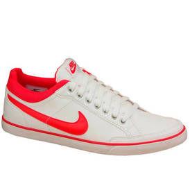 Nike capri iii low balti su raudonu2