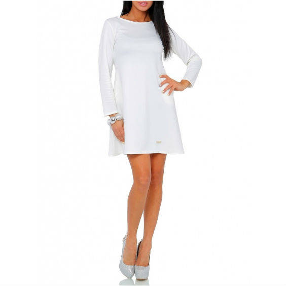 Platejanti suknele ilgomis rankovemis v246 6 1