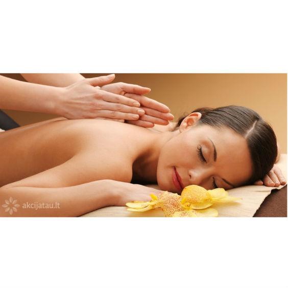 klasikiniai viso kūno masažai