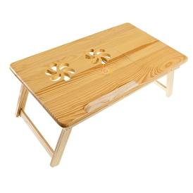 Bambukinis staliukas kompiuteriui